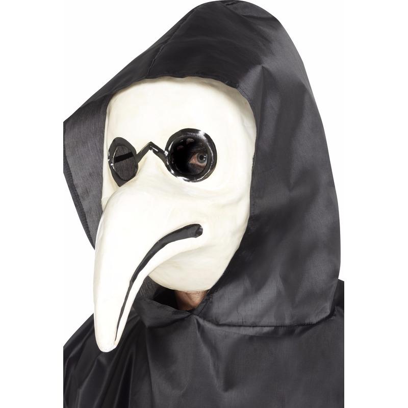 kanten masker wit