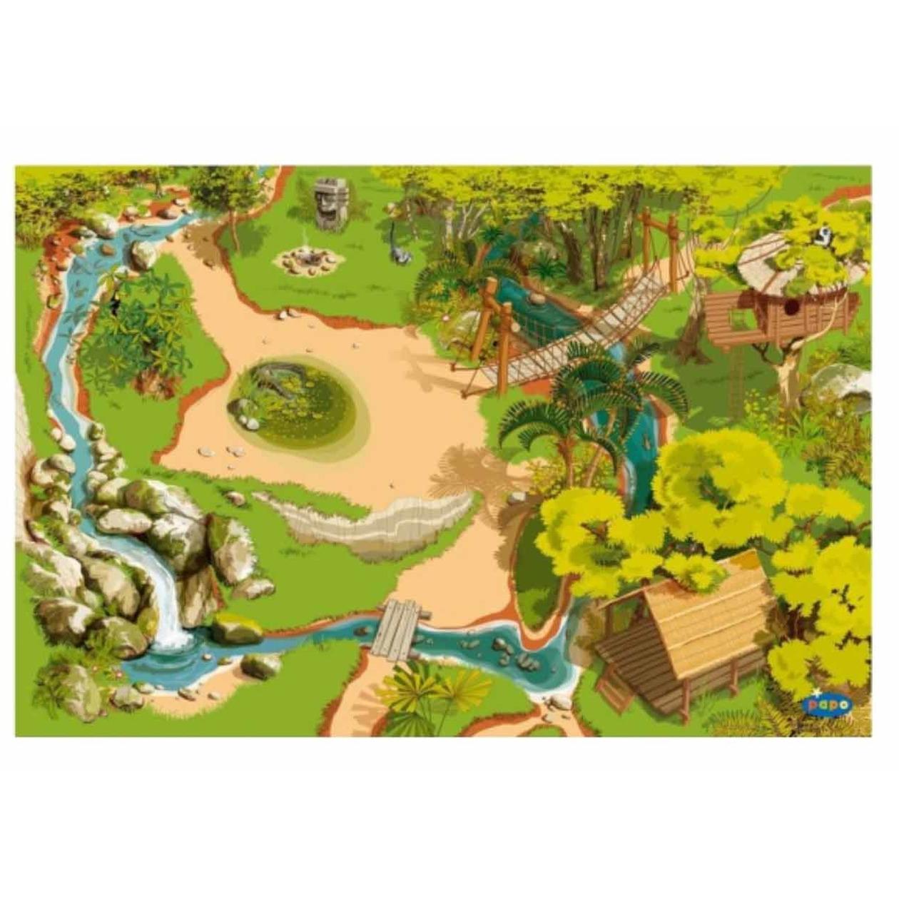 Jungle Decoratie Kinderkamer.Speelkleed Jungle 95 X 135 Cm Kinderkamer Decoratie Bellatio